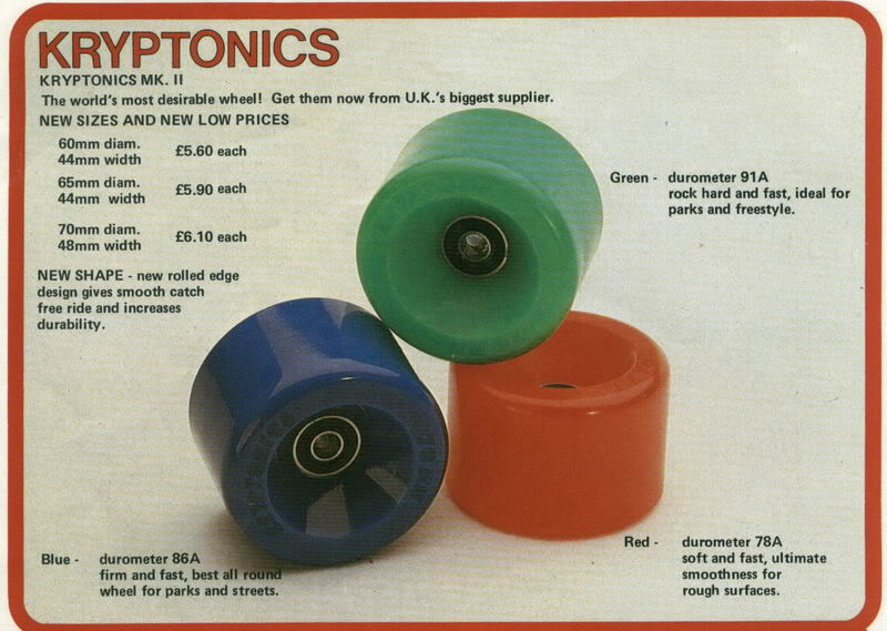 The Kryptonics Skateboard Touring Collection