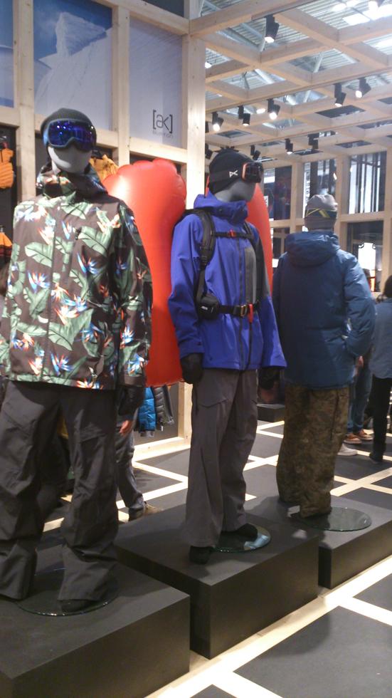 Burton AK outerwear 2015