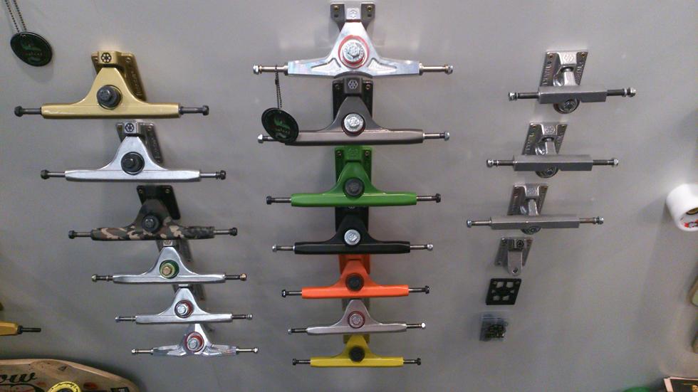 Gunmetal trucks lineup