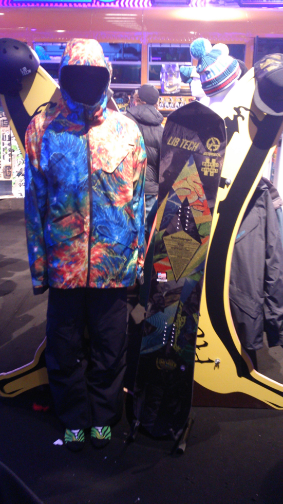 Lib Technologies Outerwear e T.Rice GoldMember 2015