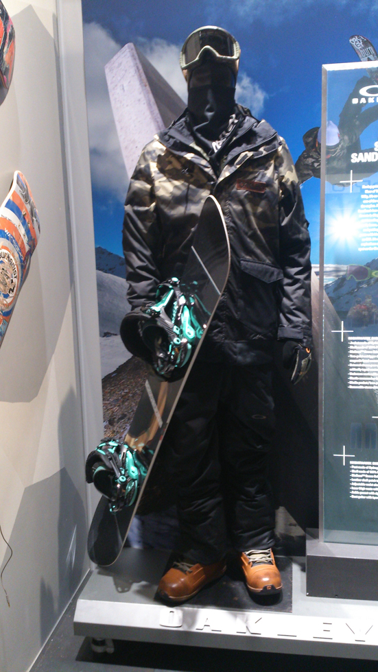 Oakley Outerwear Stale Sandbech otufit 2015