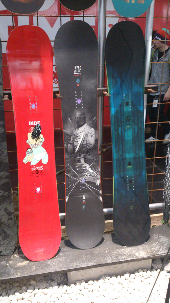 Ride snowboards 2015