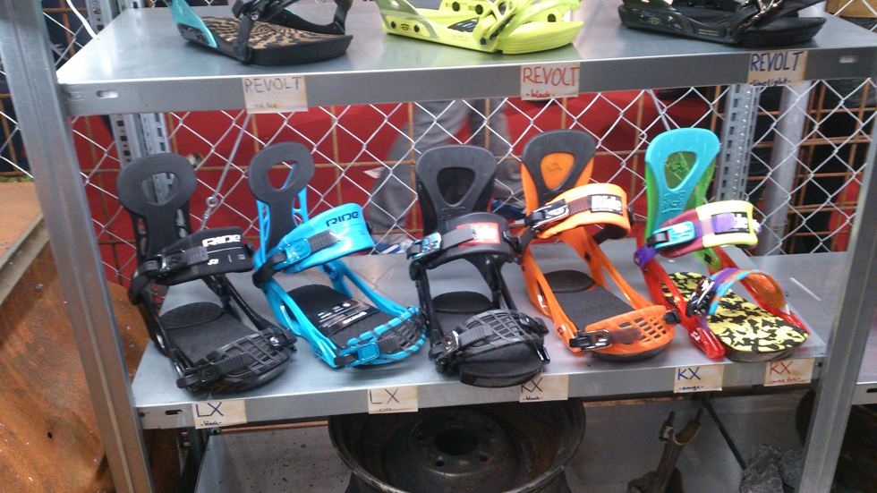 Ride LX e KX  Bindings 2015