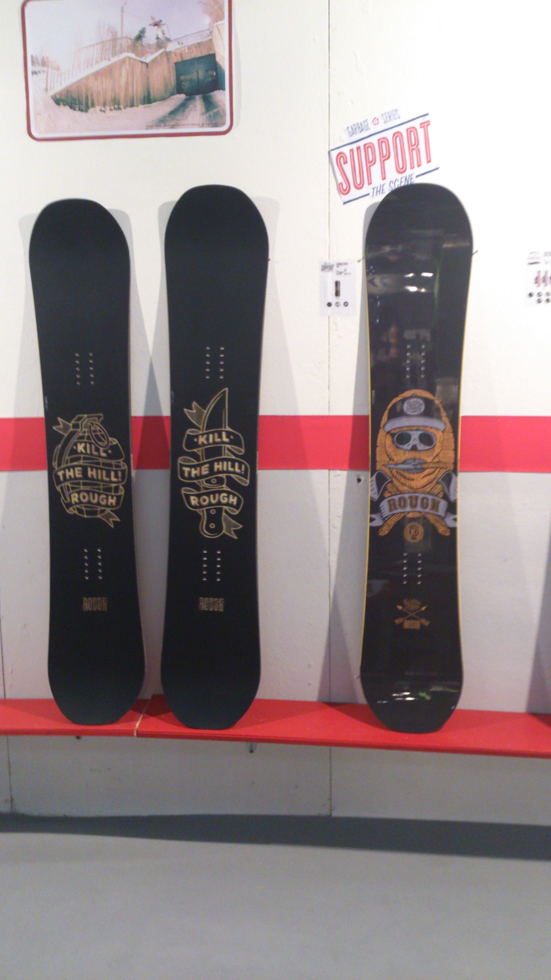 Rough Snowboards 2015
