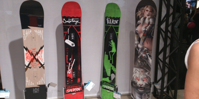 Salomon Assassin, Sabotage Classic, Villian Classic e Man's Board 2015