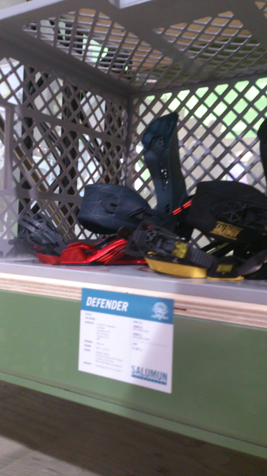 Salomon Defender bindings 2015