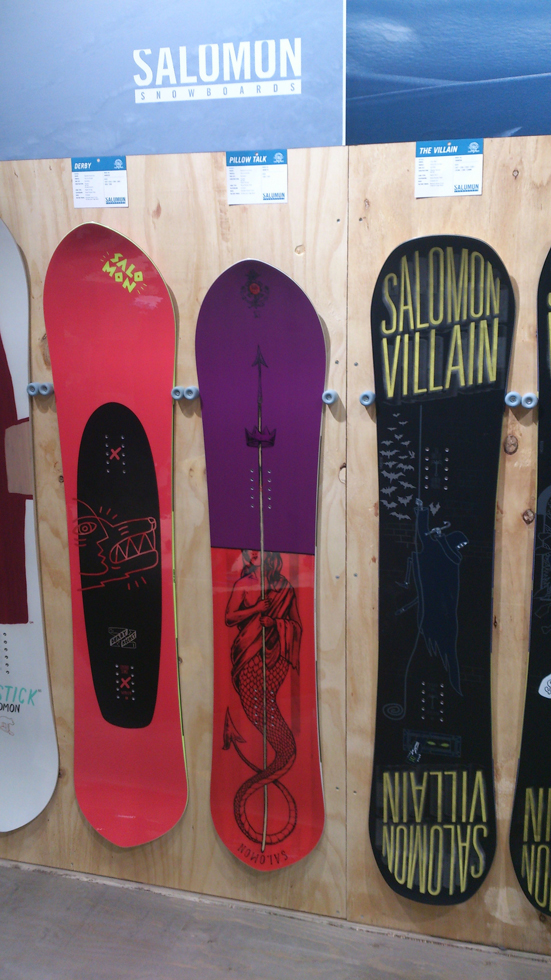 Salomon Derby, Pillowtalk e Villain 2015