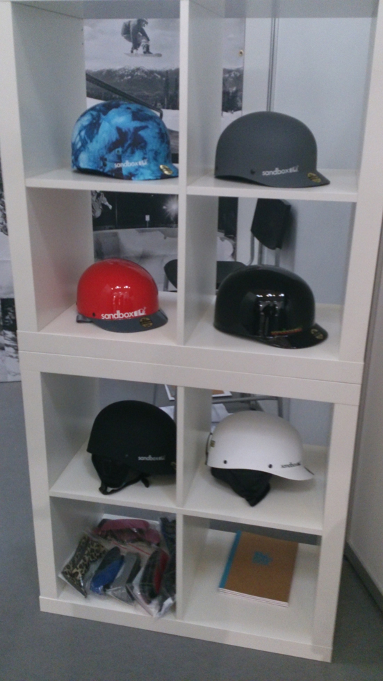 Sandbox helmets lineup for 2015